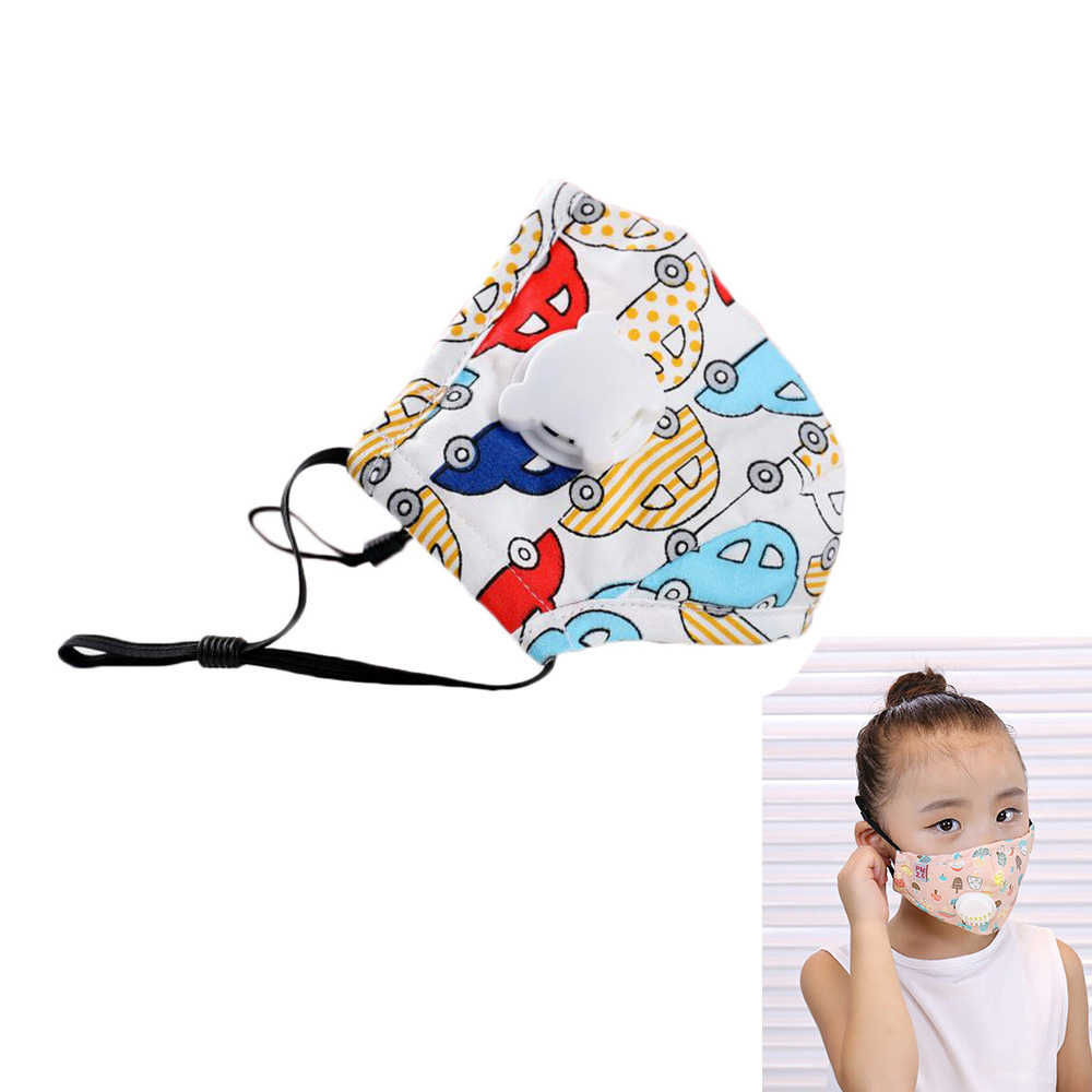 Children Anti Dust Face Mouth Mask Reusable Breathable Cotton Protective  Kid Cartoon Cute PM2.5 Anti-Dust Mouth Face Mask 2020