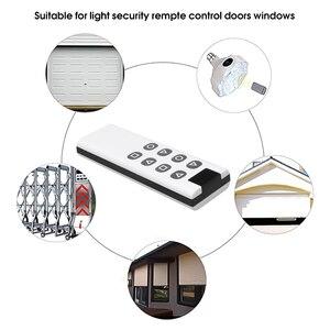 Image 4 - 8 Botones inalámbrico de 433Mhz copia clonación a Control remoto código para puerta de garaje puerta alarma duplicador de 1000M de largo transmisor