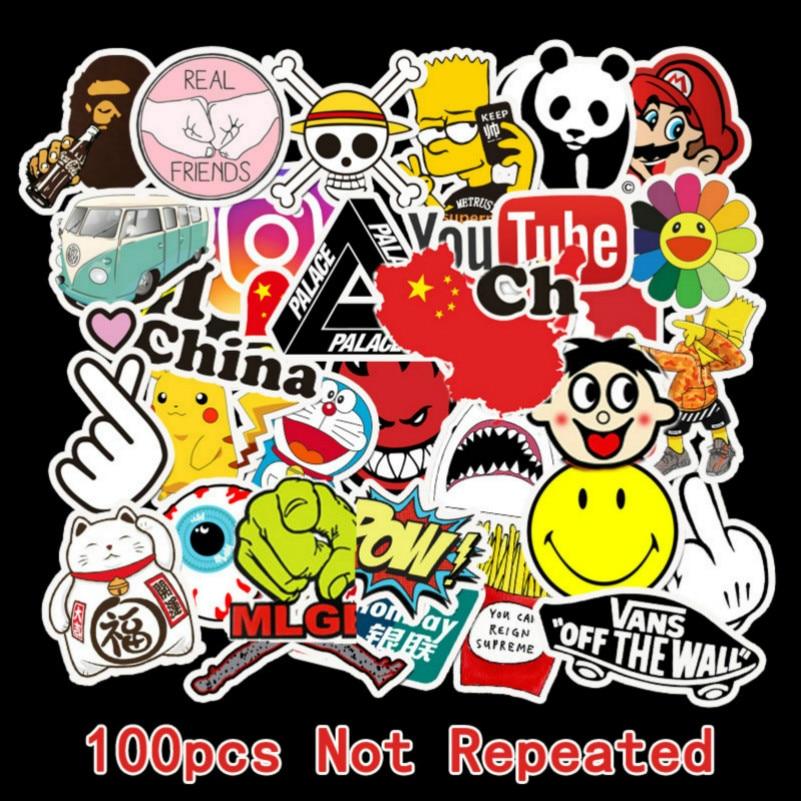 Vinyl Stickers Stickers For Laptop 100Pcs 50Pcs Stickers Stickers Cute Stickers Anime Label Sticker Set Auto Stickers Laptop