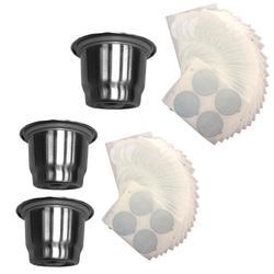 Filtro colador de taza de café reutilizable de acero inoxidable para espresso accesorio de café de alta calidad