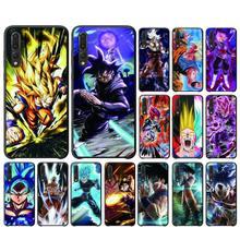 Japanese anime Son Goku Phone Case For Huawei Mate10/30/30Pro Enjoy5/8Plus/9E Y6P/8S/9