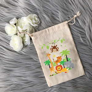 Jungle Animal Candy Goodie Treat gift Bag Safari Baby Shower Wild One 1st 2nd 3rd Birthday Party Gender reveal Decoration Favor