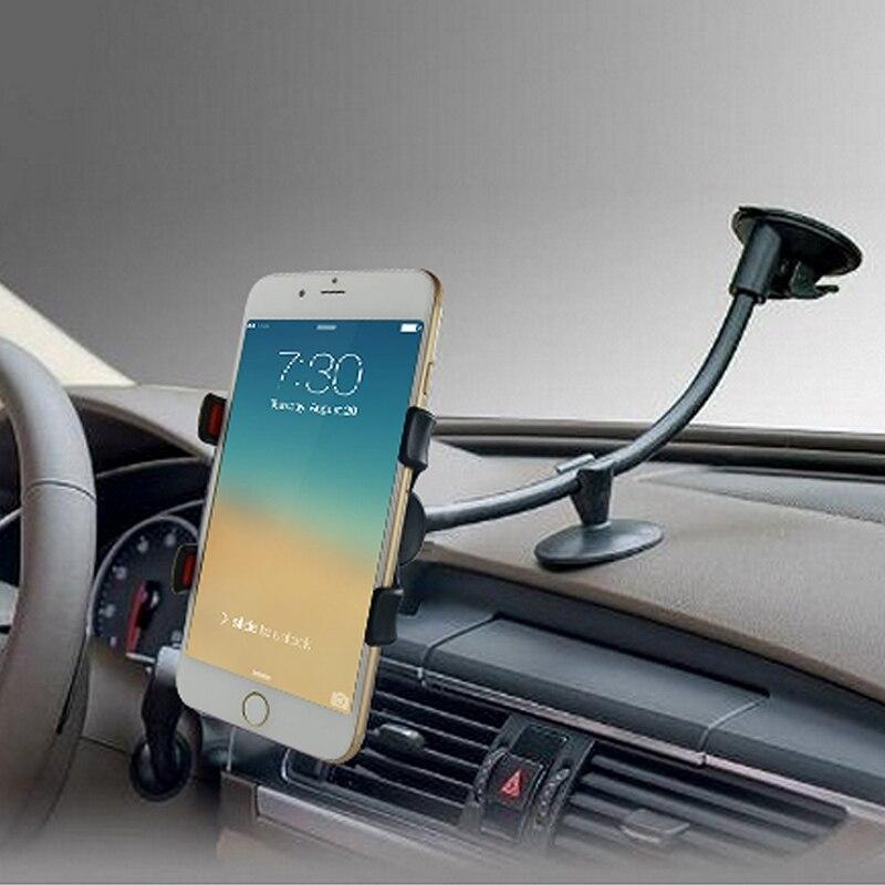 Long phone holder for car carpet protector runner