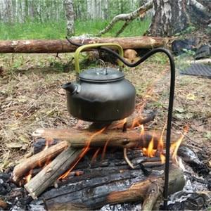 Image 5 - Vilead pote de acampamento portátil pan chaleira conjunto liga alumínio utensílios de mesa ao ar livre panelas 3 pçs/set bule cozinhar ferramenta para piquenique churrasco