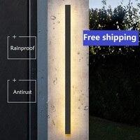 Applique murale LED en aluminium, imperméable conforme à la norme IP65, Luminaire d'extérieur, idéal pour une Villa, un jardin ou une véranda