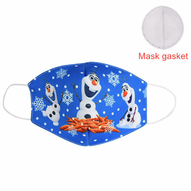 Hot Sale 2020 MEZMER Cartoon Maska Dustproof Mouth Face Mask Kid Cartoon Cover Fashion Muffle Face Mouth Masks for Children Game 1