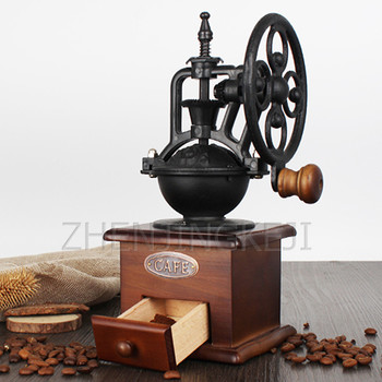 цена на Manual Multigrain Retro Home Use Smash Grinder Coffee Beans Grinding Machine Coffee Beans Bean Grinder Coffee Grinder кофемолка