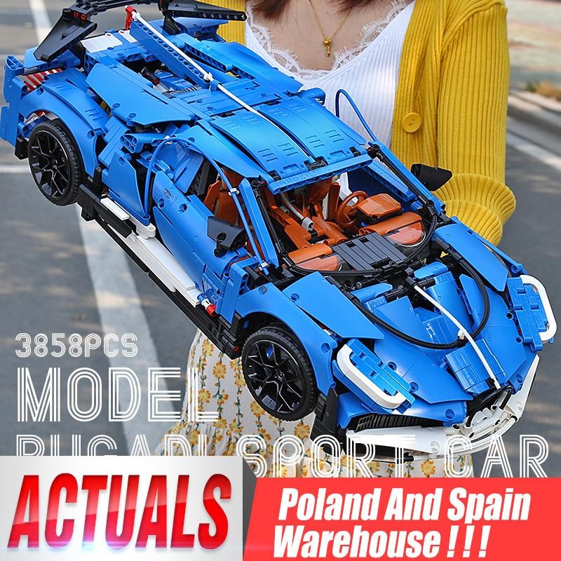 Yeshin 20086 Technic Car The Racing Car Assembly Car Model Kids Christmas Toys Building Blocks Compatible christmas Gift