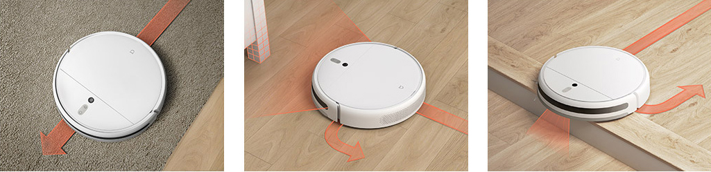 Ha19f55f702f646138c709d441921efd8D Xiaomi Mi Robot Vacuum Cleaner 1C Sweeping Mopping STYTJ01ZHM for Home Automatic Dust Sterilize Smart Planned Cleaner