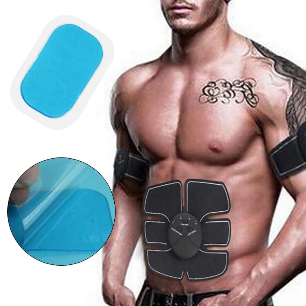 2Pcs/lot Replacement Pad EMS Abdominal Muscle Paste Belt Arm Muscle Training Diet Shape Fat Burning Gel Sheet Compatible Pad