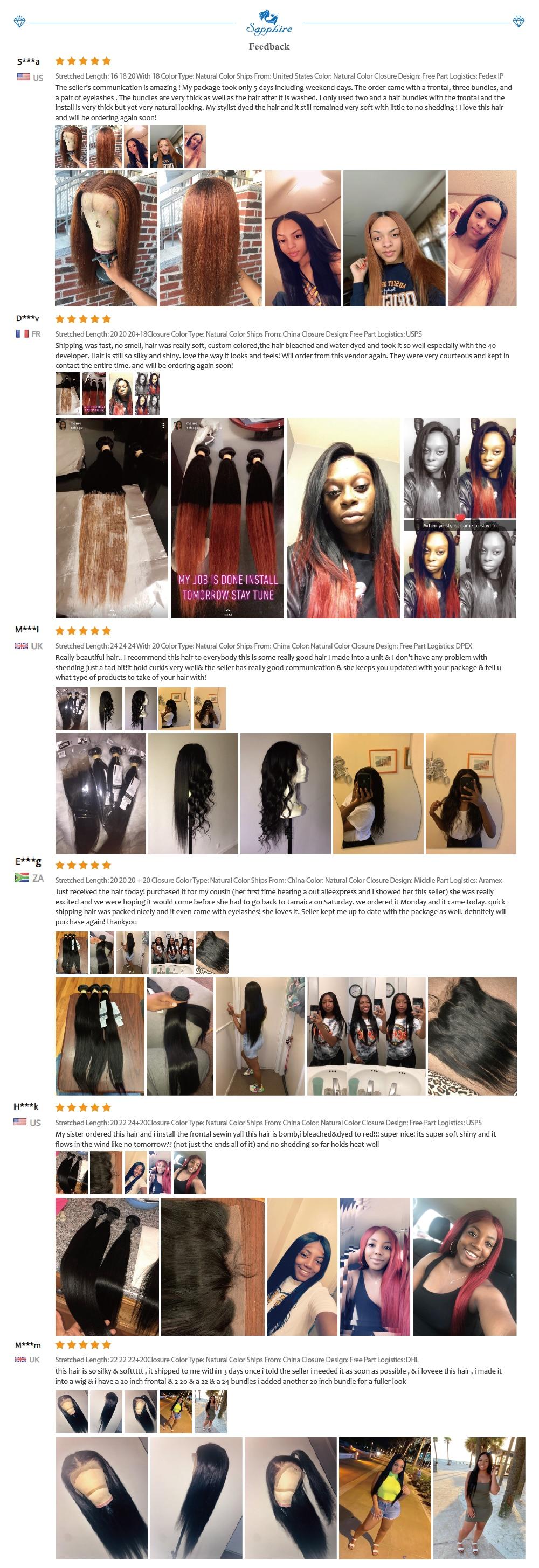 Ha19f803e488a4171a4757864457897a5Q Sapphire Straight Hair Frontal With Bundles Human Hair Bundles With Frontal Brazilian Hair Weave Bundles With Closure Frontal