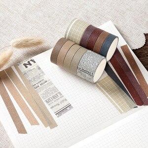 10pcs/lot Mohamm Sweet Dream Series Cute Washi Tape Set Masking Tape Journal Supplies Scrapbooking Paper Stationary