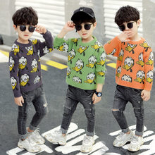 Get more info on the Toddler Baby Boy Sweater Cartoon Duck Autumun Winter Kids Knit Sweaters Cute Tops Fancy Christmas Clothes Boy Cashmere Knitwear