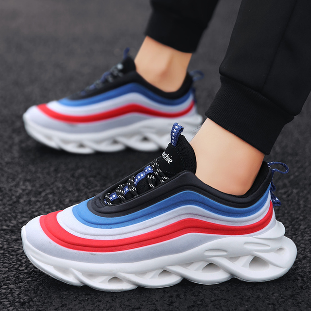 Running Shoes For Men 2019 New Listing Outdoor Sneakers Men Spring Autumn Athletics Sports Shoes Breathable Jogging Shoes