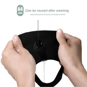 Image 5 - 1 قطعة قناع الفم للجنسين الكبار قابلة لإعادة الاستخدام تنفس ثلاثي الأبعاد قناع واقي الوجه
