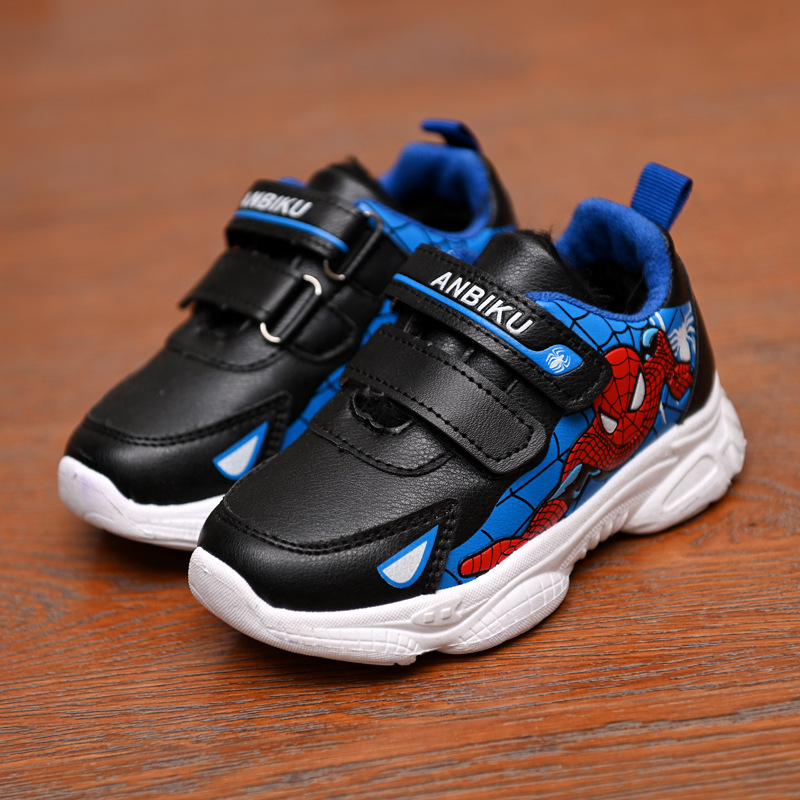 2020 New Spring And Autumn Boys And Girls Cartoon Spider-man Sneakers Children Fashion Sneakers Fashion Student Travel Shoes