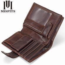 Wallet for men Brief paragraph Restoring ancient ways Money clip Head layer cowhide Card wallet Leather wallet Bills package