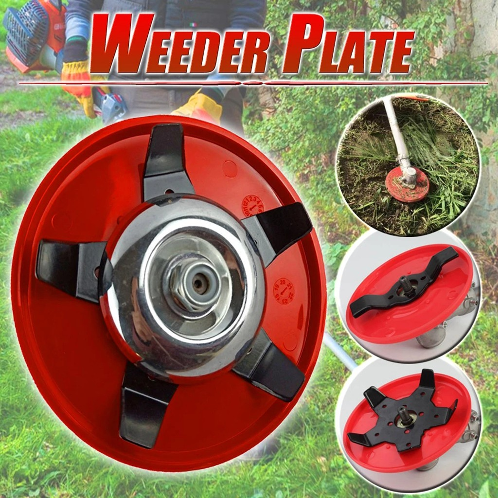 Weeder Plate Blades Lawn Mower Grass Eater Trimmers Head Brush Cutter Tool Lawn Mower Tool Accessories Drop Shipping