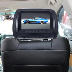 Высокое качество автомобильной общая 7-дюймовый задний подголовник HD цифровой Экран жидкокристаллический Дисплей автомобильный dvd-плеер д...