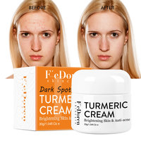 Herb Turmeric Face Cream Repair Acnes scar Dark spot Treatment Moisturizer Whitening Lightening Against  Acne skin care 30ml 4