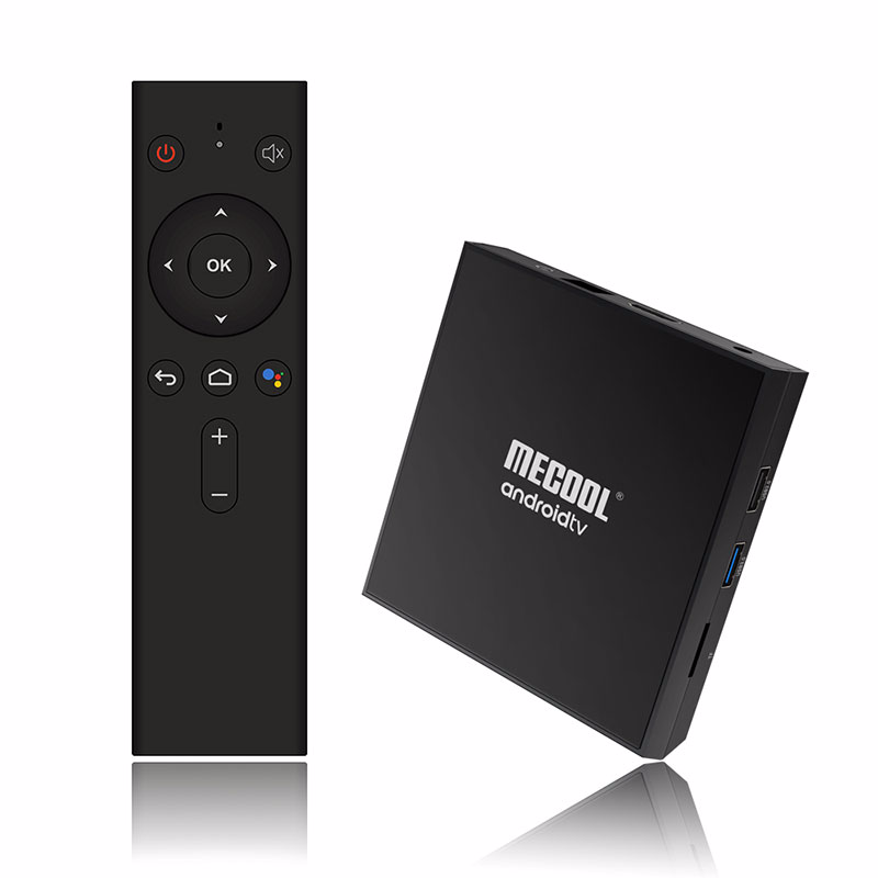 Skywoods Mecool KM9 Pro Classic Android 9.0 WiFi TV Box Amlogic S905X2 2G di RAM 16G ROM 2.4G 4K Google Certificato Media Player