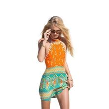 Summer Dress Women Vintage Casual Mini Spaghetti Strap Sleeveless Beach Style Above Knee Clothes