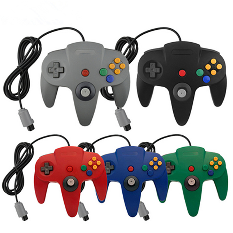 14 Colors For N64 Controller Joystick N64 Gaming Handrip Gift Control