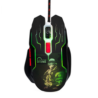 Dtime Silent Click Usb Wired Gaming Mouse 6 Buttons 3200Dpi Mute Optical Computer Mouse Mice For Pc Laptop Notebook Game G|Mice| |  -