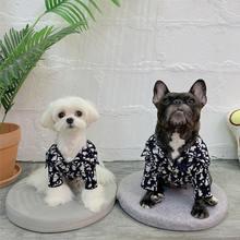 Модный свитер для домашних животных; Хлопковая одежда собак;