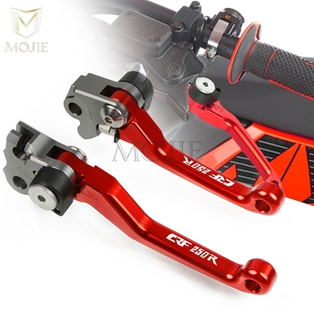 For Honda CRF250R 2004-2006 CRF 250R 250 R 2007-2018 2017 2016 2015 CNC Pivot Brake Clutch Levers Motorcycle Dirt Bike Motocross image