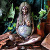 Mother Earth Statue Earth Art Statue Figurine Mother Figurine Garden Ornament Goddess Statue For Gifts Home Outdoor Decoration