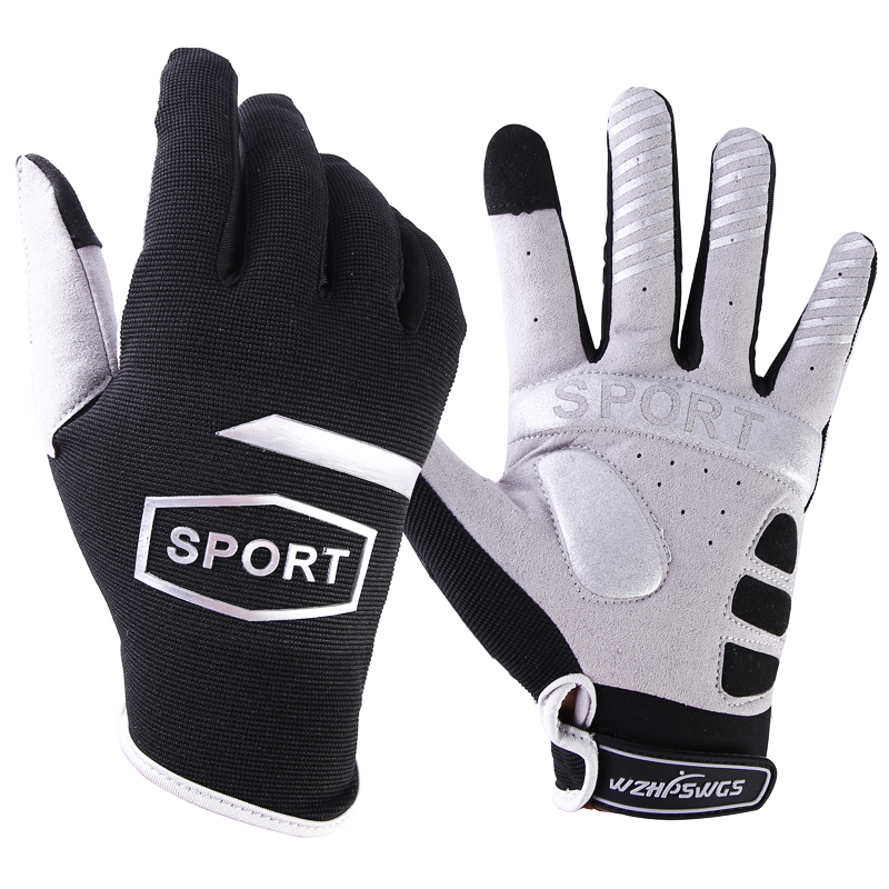 Bicycle-Gloves Full-Finger Touch-Screen Shock Autumn GEL Spring Liquid Mtb-Sport