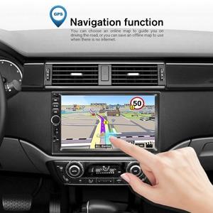 Image 5 - Podofo 2din araba radyo Android GPS Navi Wifi araba multimedya oynatıcı evrensel için otomatik Stereo Volkswagen Nissan Hyundai Kia toyota