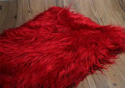 Jakarlı plaj yün düşen su tilki düz kürk sahte peluş kumaş ceket için yastık vestcollar 7cm uzun kazık peluş kürk doku telas