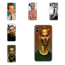 Voor iPod Touch Apple iPhone 11 Pro 4 4S 5 5S SE 5C 6 6S 7 8 X XR XS Plus Max Transparant Soft Skin Case Paul Walker Fast Furious(China)