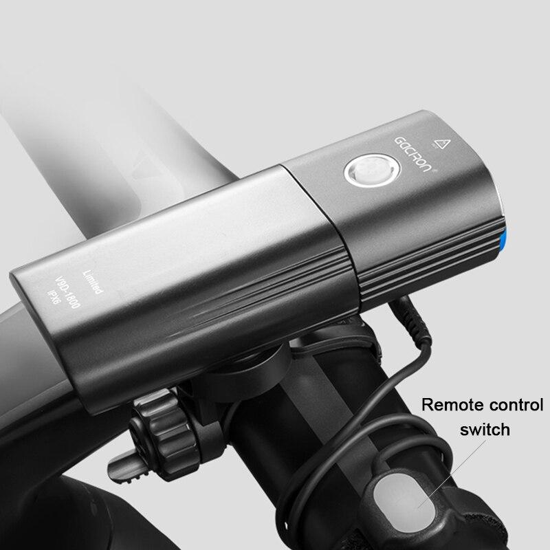 1800 Lumen Bike Lights Set 6 Mode XML-2 LED Bicycle Light Mobile Power Bank USB Charging Waterproof Torch MTB Cycling Headlight
