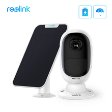 Reolink ארגוס 2 עם פנל סולארי מלא HD 1080P חיצוני אבטחת IP מצלמה נטענת סוללה אור כוכבים חיישן WiFi מצלמה