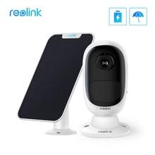 Reolink Argus 2 Với Bảng Điều Khiển Năng Lượng Mặt Trời Full HD 1080P An Ninh Ngoài Trời IP Pin Sạc Starlight Cảm Biến Camera WiFi