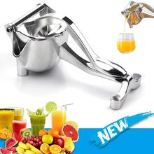 Espremedor de suco manual de liga de alumínio mão pressão espremedor romã laranja limão açúcar cana suco suco de frutas frescas espremedor