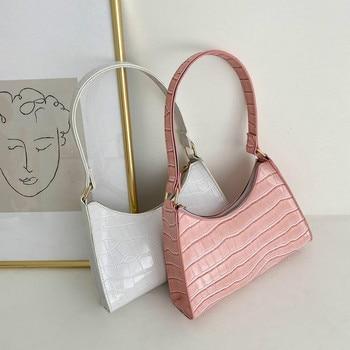 Retro Casual Women's Totes Shoulder Bag Fashionable Exquisite Shopping Bag PU Leather Chain Handbags for Women 2021 Free Shiping