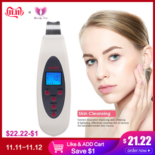 KONMISON Cleanser Massager Lift Skin-Scrubber Ultrasound-Peeling Face-Cleaning-Acne-Removal