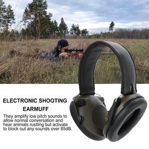 Image 4 - Militaire Tactische Oorbeschermer Ruisonderdrukking Jacht Schieten Hoofdtelefoon Anti Noise Oor Verdedigers Gehoorbeschermer