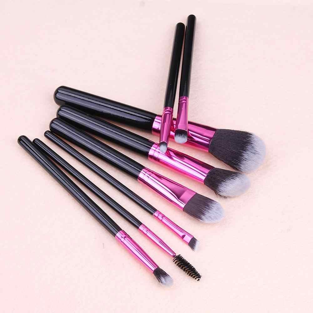 Hot Koop Eye Make-Up Kwasten Set Oogschaduw Eyeliner Wenkbrauw Blush Vermogen Facial Make-Up Multifunctionele Cosmetische Gereedschap TSLM1