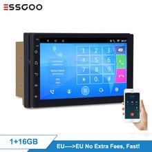 Essgoo Android 9.1 Car Radio 2GB RDS Autoradio Stereo Auto 2 Din Multimidia Video Player Automotivo Gps Navigation Universal