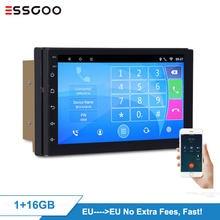 Essgoo Android 9,1 Auto Radio 2GB RDS Autoradio Stereo Auto 2 Din Multimidia Video Player Automotivo Gps Navigation Universal