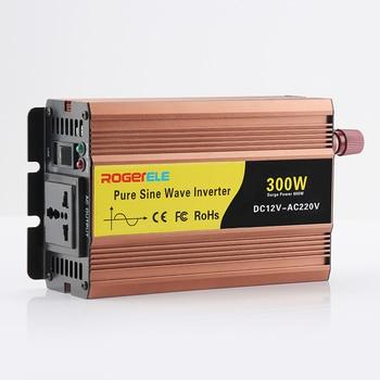 цена на 300w inverter Pure Sine Wave Power Inverter 12v car battery charger