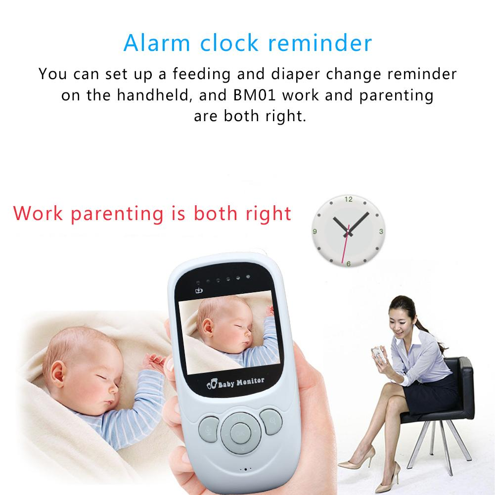 New Arrvials 2.4 Inches 2.4G Wireless Visual Baby Care Digital Video Baby Monitor With Camera