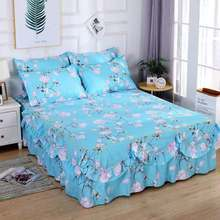 Bedding set luxury lace best-selling 3 piece set family suit can not afford ball green pillowcase sheets, no filling 2019 sets o