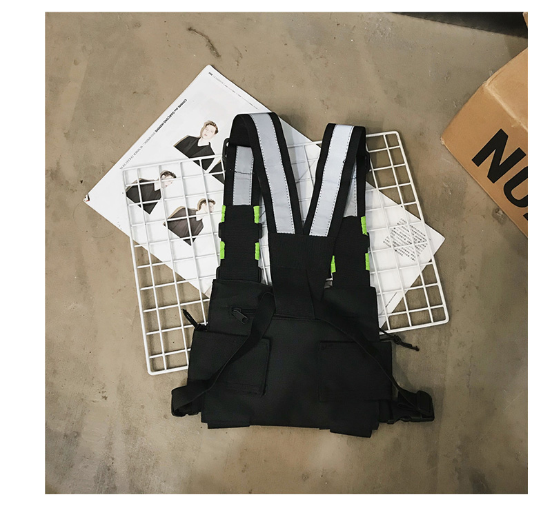 Ha1a2f468172a450a855f6fa617799e001 - Chest-Rig Bag Hip-Hop Streetwear Waist Bag Adjustable Men Tactical Chest Bags Fanny Pack Men Streetwear Kanye Waistcoat Male