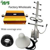DCS 1800MHZ GSM 2G 3G 4G LTE telefon komórkowy wzmacniacz sygnału komórkowego wzmacniacz + wewnętrzna i antena zewnętrzna antena o dalekim zasięgu zestaw